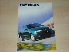 67958) Fiat Punto Style Prospekt 04/1998