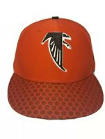 New Era NFL Atlanta Falcons Red & Black Hat Cap On Field Sideline Fitted 7 1/2