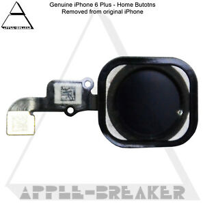 Apple iPhone 6 6+ 6S 6S+ PLUS HOME BUTTON WITH FLEX CABLE 100%  GENUINE ORIGINAL