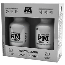 Multivitamin AM & PM 90+90 Tablets Vitamins & Minerals Formula Complete Cycle !!