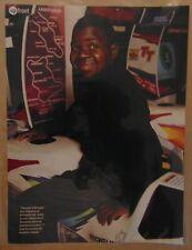GARY COLEMAN Child TV Television Star Actor 1999 Original Print Photo Clipping