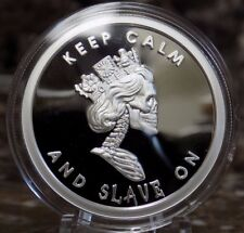 SBSS Slave Queen Enemy Unknown Double Obverse Proof 1 oz Silver 015/100 RARE