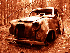 """Abandoned Junk Cars Collection #8 - Canvas Art Poster 18"""" x 24"""""""