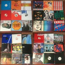 LOT 36pz ITALO pop dance Maxi singles Sade Phil Collins Wham diana ross Cadeo et