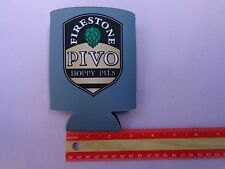 Beer Bottle Can Holder Koozie <*> Firestone Walker Brewing Co PIVO Hoppy Pils