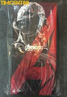Ready! Hot Toys MMS 284 AOU Avengers Age of Ultron Prime LED 1/6 Figure 410mm