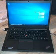 Lenovo ThinkPad t440s i5-4200U, HD+ 1600x900, 240GB SSD, 4GB RAM Win10