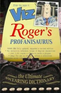 Roger's Profanisaurus (2002) by Roger Mellie Hardback Book The Cheap Fast Free