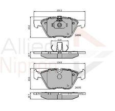 Allied Nippon Front Brake Pad Set Fits BMW WPK673