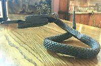 Art deco serpent.  Amazing craftsmanship.  Beautiful oxide patina. Unique.