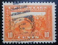 U.S. Stamp: Scott#400A, 10c, Orange, The Panama-Pacific Expo., of 1913-15