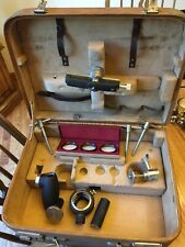 11 Vintage Zeiss Camera Attachments In Case