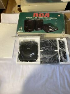 New 1995 RCA PERSONAL CD Home Stereo Player Model RP-7914