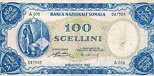 COLONIE E OCCUPAZIONI ITALIANE ALL'ESTERO - SOMALIA 100 SCELLINI R5