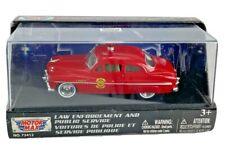 Diecast 1:43 Motor Max Public Service 1949 Mercury Coupe Fire Chief Original Box