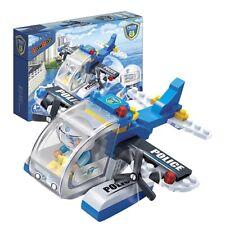 BanBao 7009 Police Seaplane 112-Piece Building Bricks