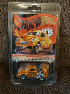 Hot Wheels 00009/10000 RLC '41 Willys Gasser First Release Low Number 2018