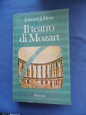 MUSICA-EDWARD J. DENT-IL TEATRO DI MOZART-PRIMA EDIZIONE 1979