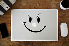 "Big Smiley Cara Pegatina vinilo para Apple MacBook Aire / Pro portátil 12"" 13"""