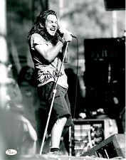 """Eddie Vedder Signed 11x14 w/ """"Full Letter"""" JSA LOA #Z45234 Pearl Jam"""