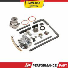 Timing Chain Kit w/o Gears Water Oil Pump for 99-08 Suzuki Chevy 2.7 H25A H27A