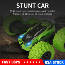 Remote Control Stunt Car RC Cars 360°Flips Double Sided High Speed Race Car Toys