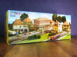 Kibri HO 9536 Layout Kit contains Item 8200, 8202, 8204, 8206 & 9532