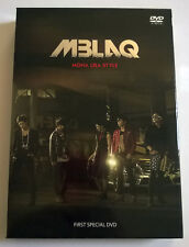 MBLAQ Mona Lisa Style First Special DVD Japan Press + Photobook + Photocards