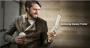 Original 4G LTE 8MP Samsung Galaxy Folder SM-G1600 Dual-SIM Android Flip Phone