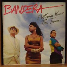 "Bandera – I Wanna Know / The Tease (Vinyl, 12"", Maxi 45 Tours, Promo)"