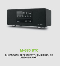 Muse M-680 BTC Mains Stereo Bluetooth Speaker FM Radio MP3 USB AUX CD 40W