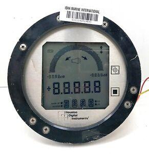 Houston Digital Instrument HDI 2400 16K PSI Custom Pressure Panel Gauge System