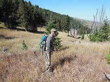 HUNTING & MEAT Pack with custom meat & cargo sling meant for serious hunters