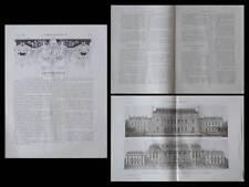 LA CONSTRUCTION MODERNE n°46 1908 PRIX DE ROME, UNIVERSITE, BOUSSOIS, VILLEMINOT