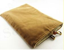 "New Brown Case Soft Bag For 7"" Samsung Galaxy Tab 1000 Tablet PC Netbook Hot"