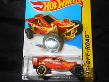 HW HOT WHEELS 2014 HW OFF-ROAD #111/250 CORKSCREW DUNE BUGGY HOTWHEELS ORNG VHTF