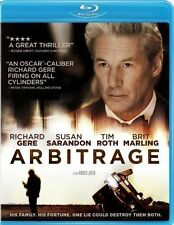 Arbitrage (BLU-RAY DISC ONLY! NO DVD OR DIGITAL COPY)FREE SHIPPING!!