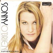 SONNY O'BRIEN - supernatural CDS!! europop 2005 RARE!!
