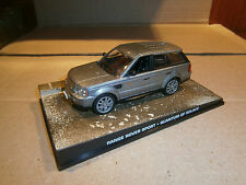RANGE ROVER SPORT QUANTUM OF SOLACE JAMES BOND 007 DeAGOSTINI IXO 1:43