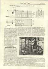 1915 Plant For Production Of Oil From Coal