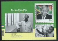Canada #2805(1) 2015 $2.50 BLACK HISTORY - NELSON MANDELA SS MNH