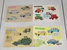 2 Cataloghi DINKY TOYS Meccano Anni 50/60 Catalogo Catalog