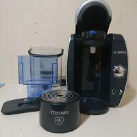 Bosch Tassimo Coffee Maker TAS4515 Black Silver Machine Modern Pod Mavea Tank