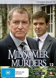 Midsomer Murders : Season 12 - brand new complete 4dvd set - free post!