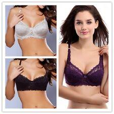 Sexy Women Bra Plus Size 10 12 14 16 18 20 22 Ultrathin Lace Underwire Lingerie