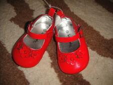 Koala Baby Sz 1 Red Flower Shoes Infant