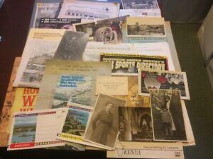 Job Lot of Ephemera - Booklets - Postcards - Photos etc