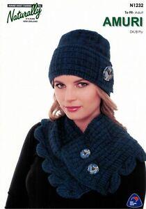 AMURI N1232 - LADIES HAT AND NECK WARMER