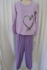 M Pajama Sets Regular Size Solid Sleepwear & Robes for Women