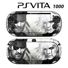 Vinyl Decal Skin Sticker for Sony PS Vita PSV 1000 Metal Gear Solid